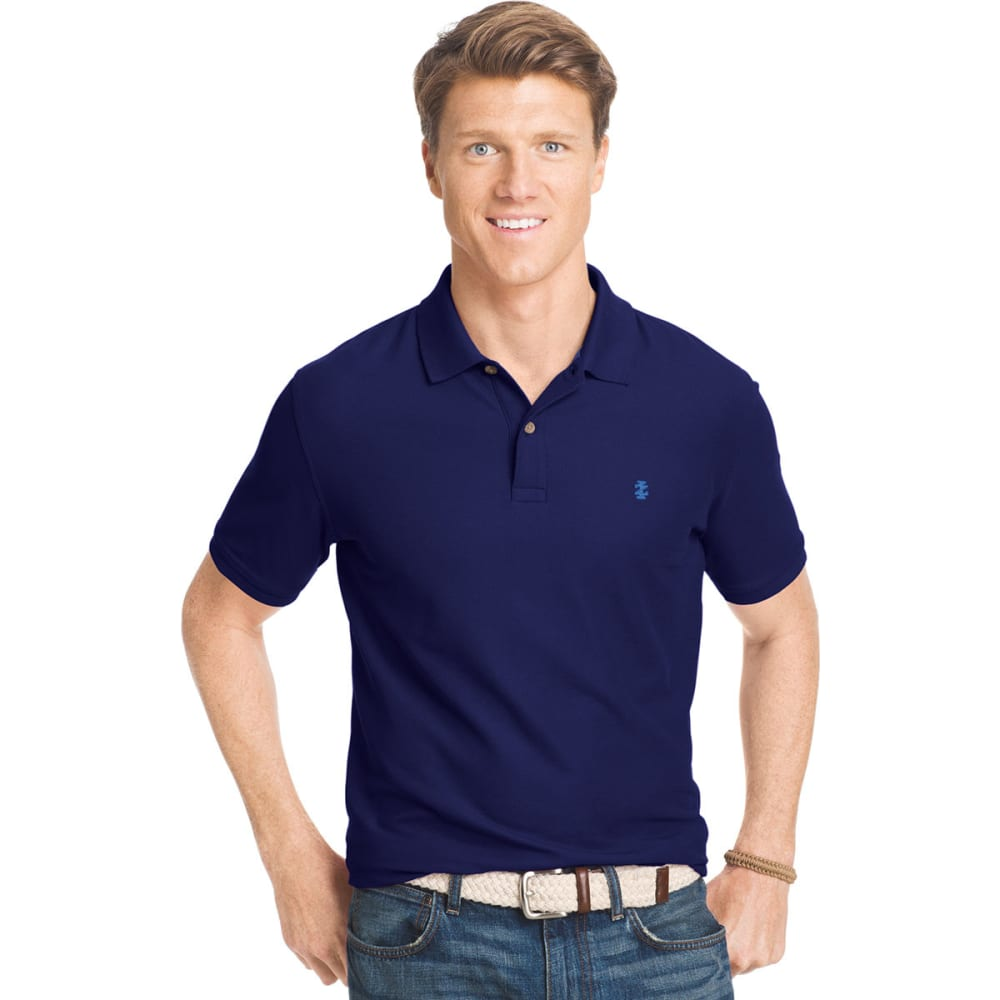 IZOD Men's Advantage Performance Polo - PEACOAT-403