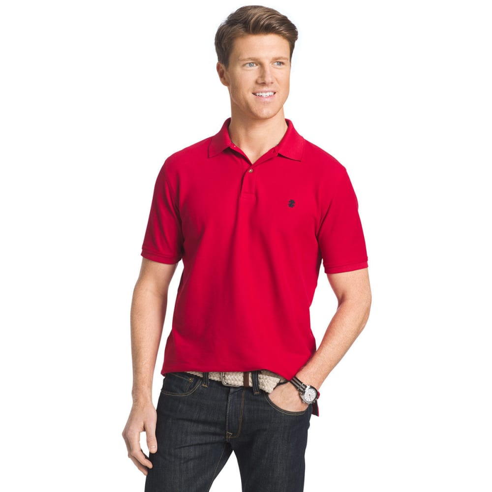 IZOD Men's Advantage Performance Polo - REAL RED-615