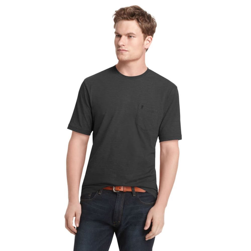 IZOD Men's Vintage T-Shirt - 001-BLACK
