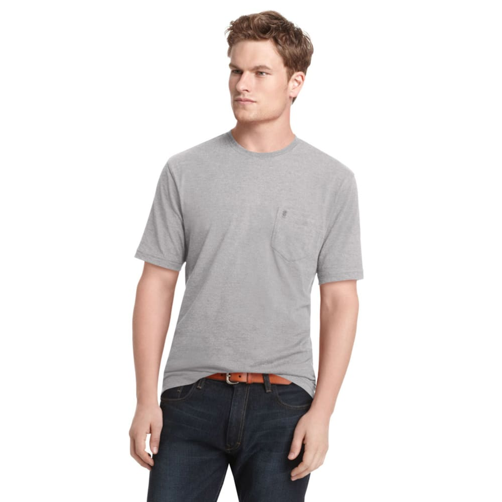 IZOD Men's Vintage T-Shirt - 064-GREY BAR