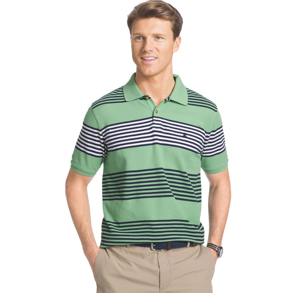 IZOD Men's Awning Stripe Polo - 332-SEACREST