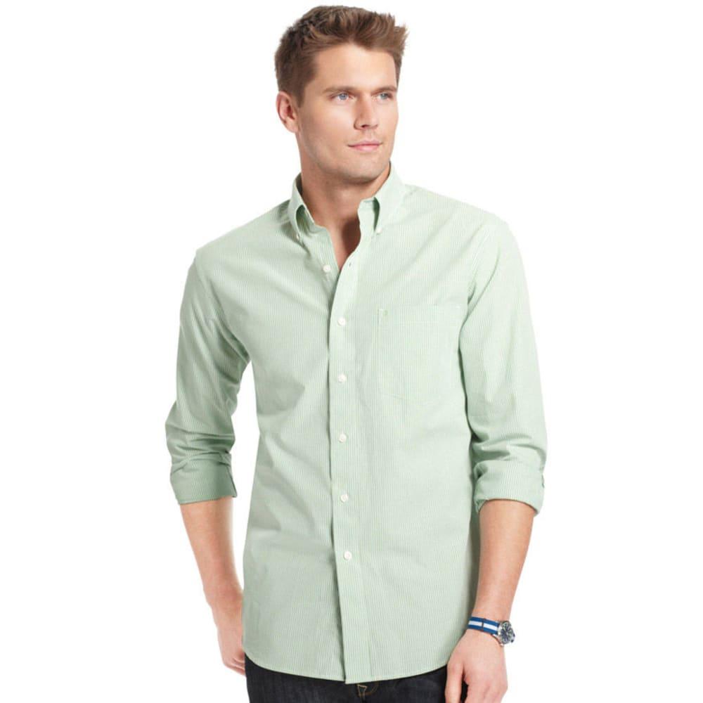 IZOD Men's Essential Mini Checkered Woven Shirt - 332-SEACREST