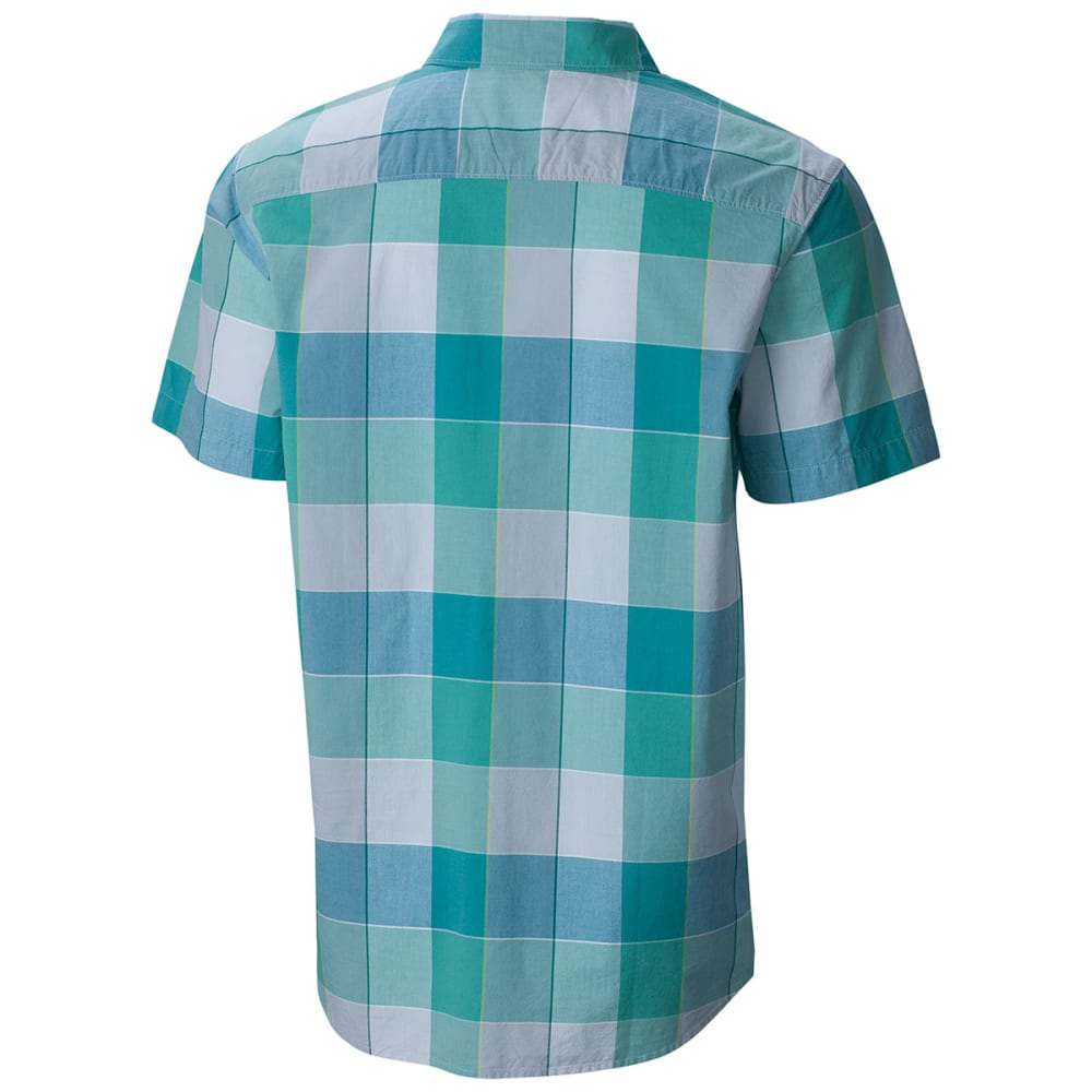 COLUMBIA Men's Thompson Hill II Yarn Dye Shirt - 318-GEMSTONE