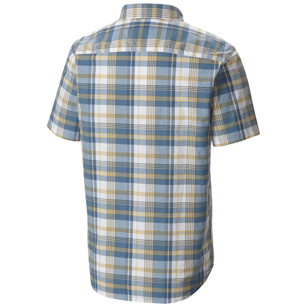 COLUMBIA Men's Thompson Hill II Yarn Dye Shirt - 413-STEEL