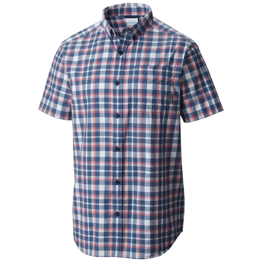 COLUMBIA Men's Rapid Rivers II Short-Sleeve Shirt - NIGHT TIDE-452