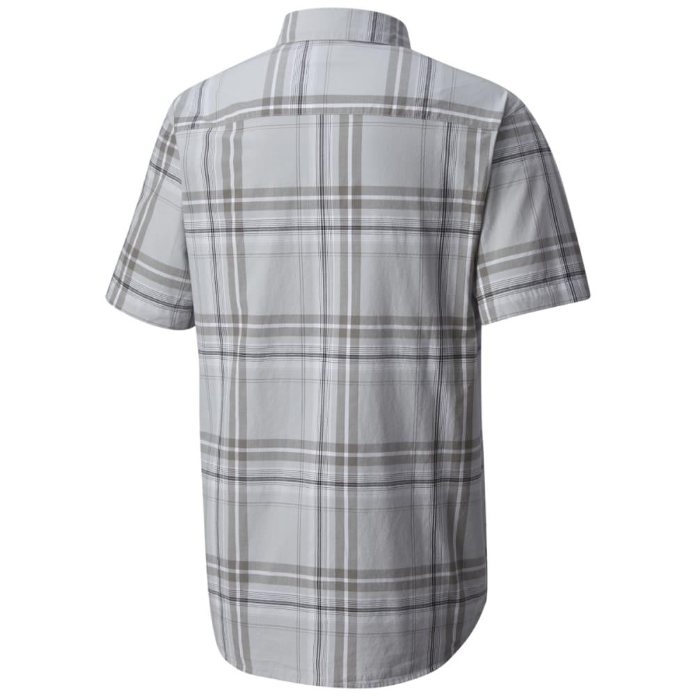 COLUMBIA Men's Rapid Rivers Mirage Short-Sleeve Shirt - COLUMBIA GRY PLD-039