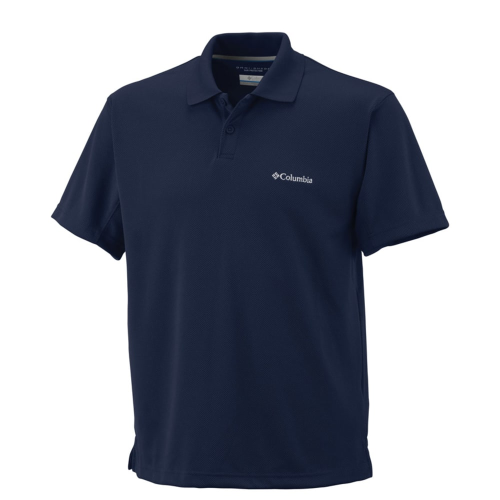 COLUMBA Men's New Utilizer Tech Polo - NAVY