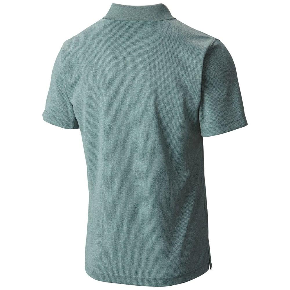 COLUMBIA Men's New Utilizer Polo Shirt - DUSTY GRN-387