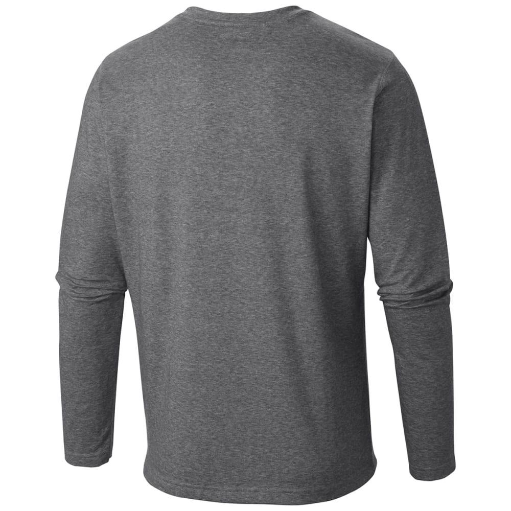 COLUMBIA Men's Thistletown Park Henley Shirt - GRILL