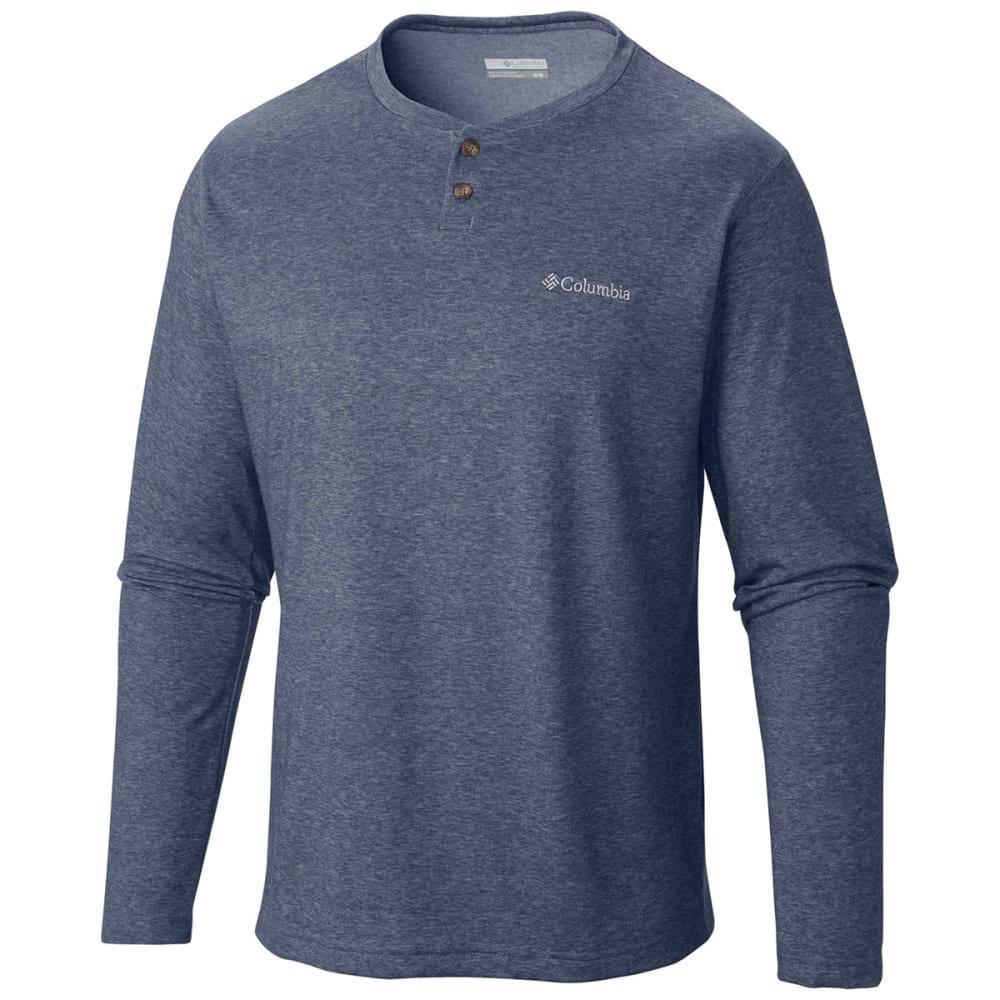 COLUMBIA Men's Thistletown Park Henley Shirt - NOCTURNAL-591