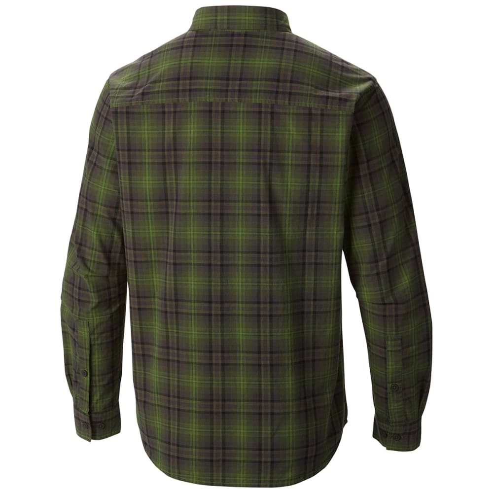 COLUMBIA Men's Out and Back Long Sleeve Shirt - GREEN