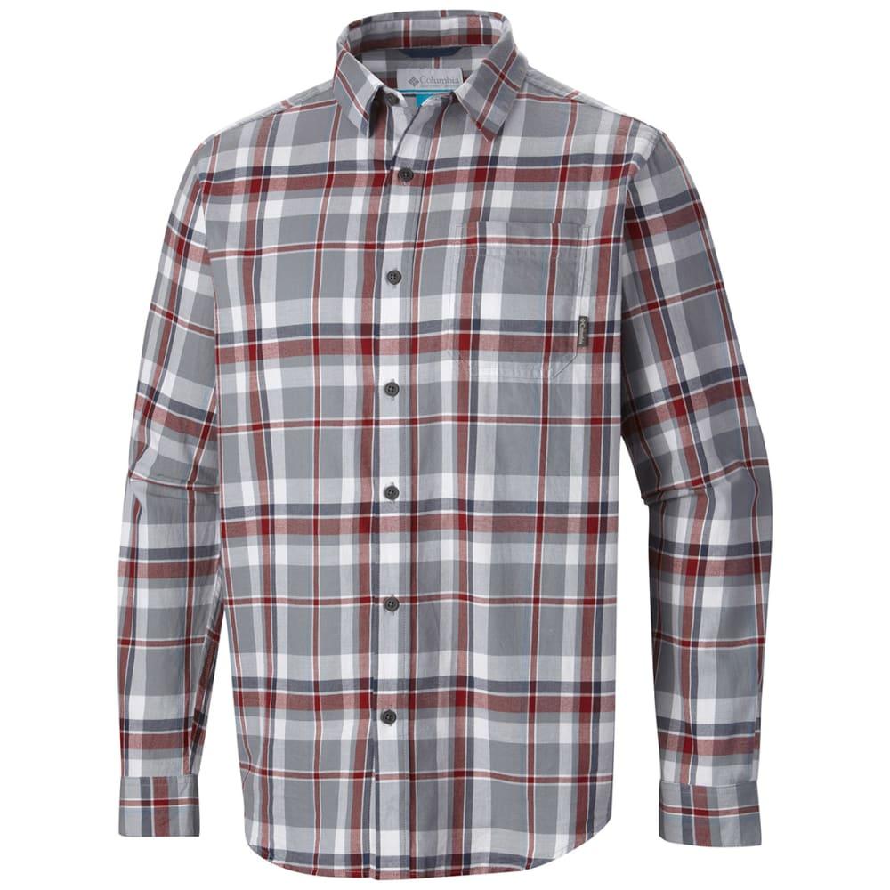 COLUMBIA Men's Vapor Ridge III Long-Sleeve Shirt - GREY