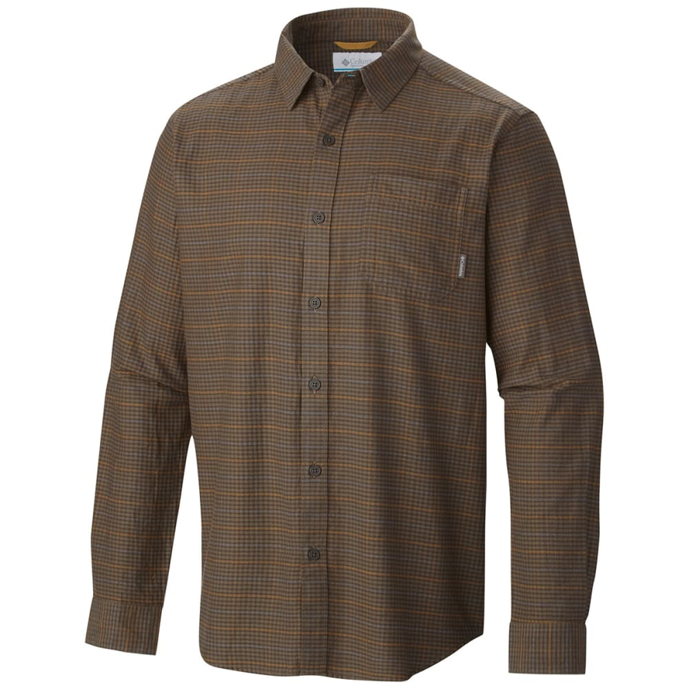 COLUMBIA Men's Vapor Ridge III Long-Sleeve Shirt - BROWN