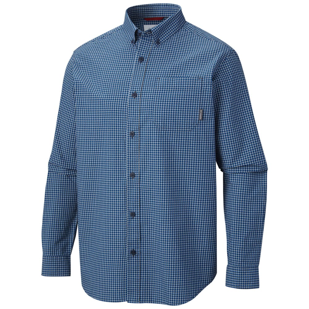 COLUMBIA Men's Rapid Rivers Button Down Shirt - BLUE