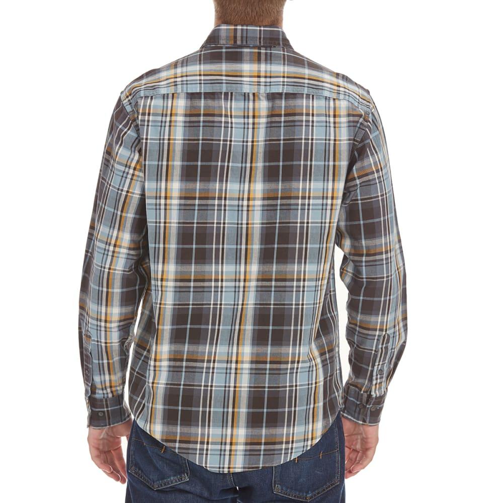 G.H. BASS & CO. Men's Mountain Twill Shirt - LIGHT BLUE