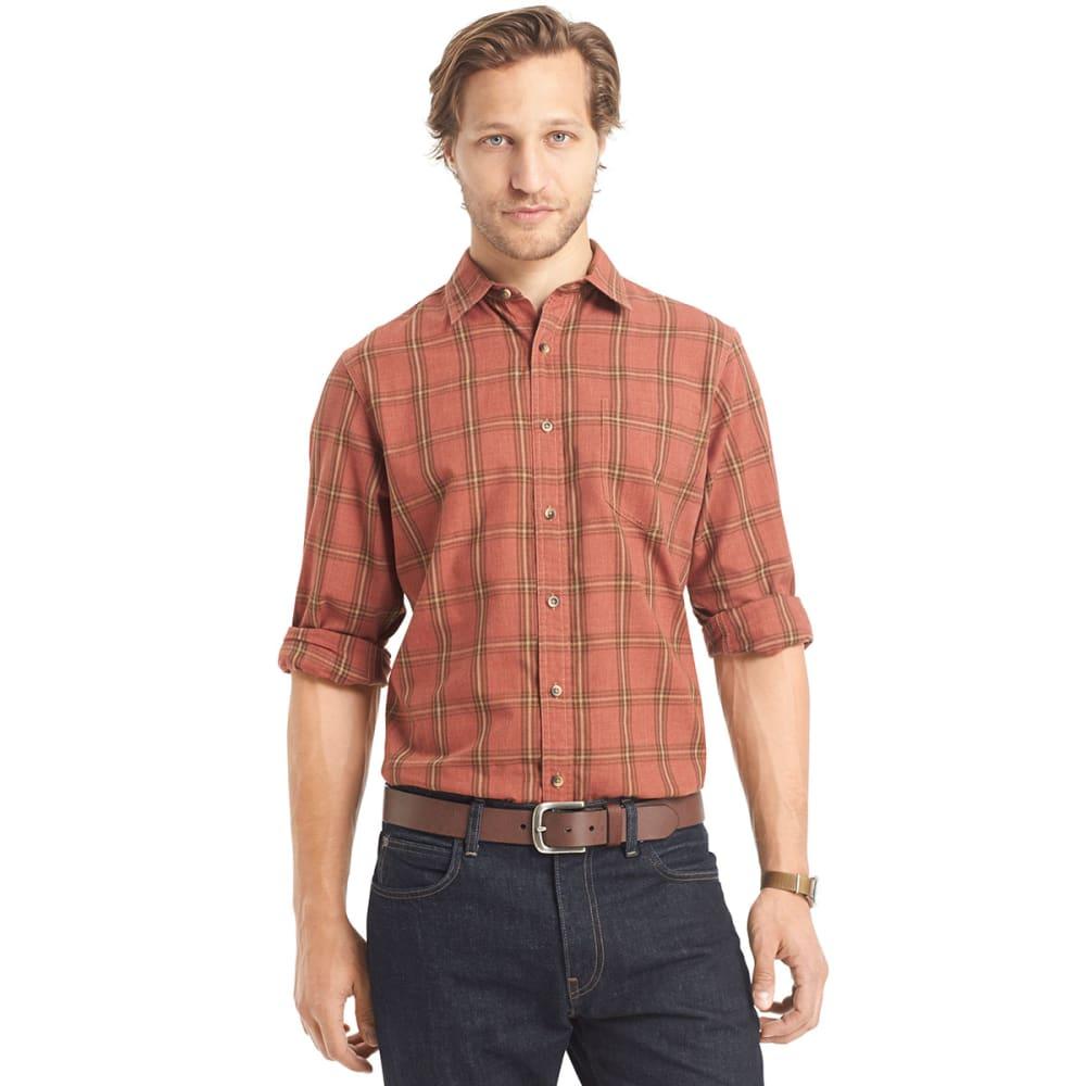ARROW Men's Poplin Button-Down Shirt - BIRCH
