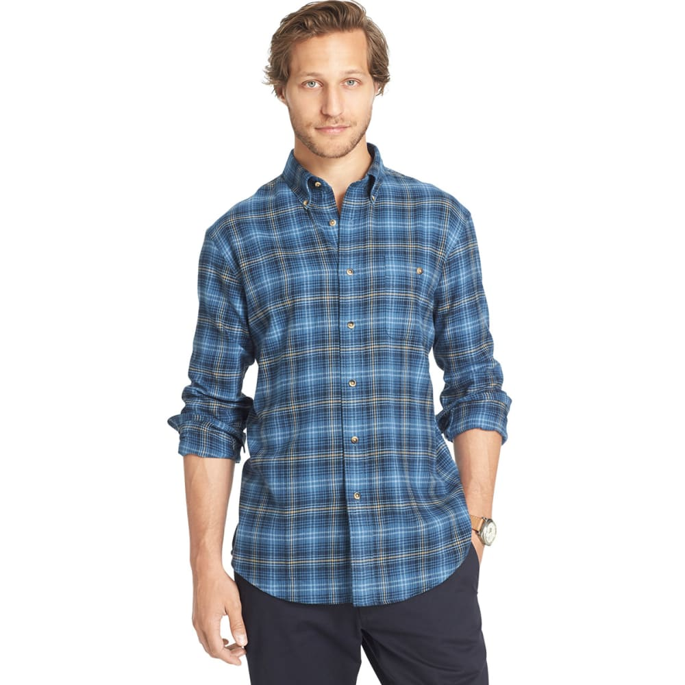 G.H. BASS & CO. Men's Flannel Shirt - MIDNIGHT
