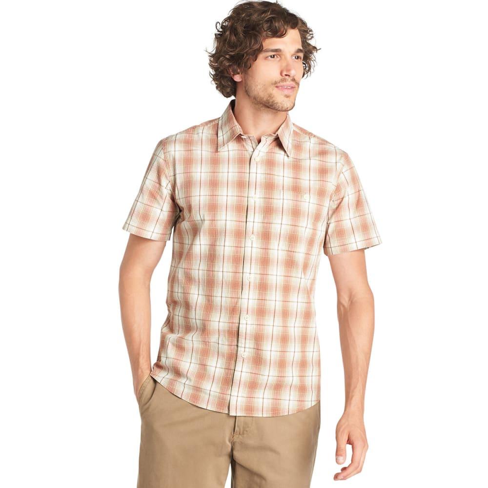 G.H. BASS & CO. Men's Corded Poplin Tandori Button-Down Shirt - TANDORI