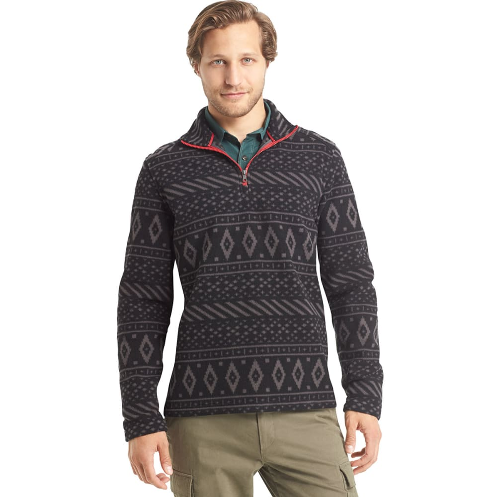 ARROW Men's Arctic Print Fleece - BLACK