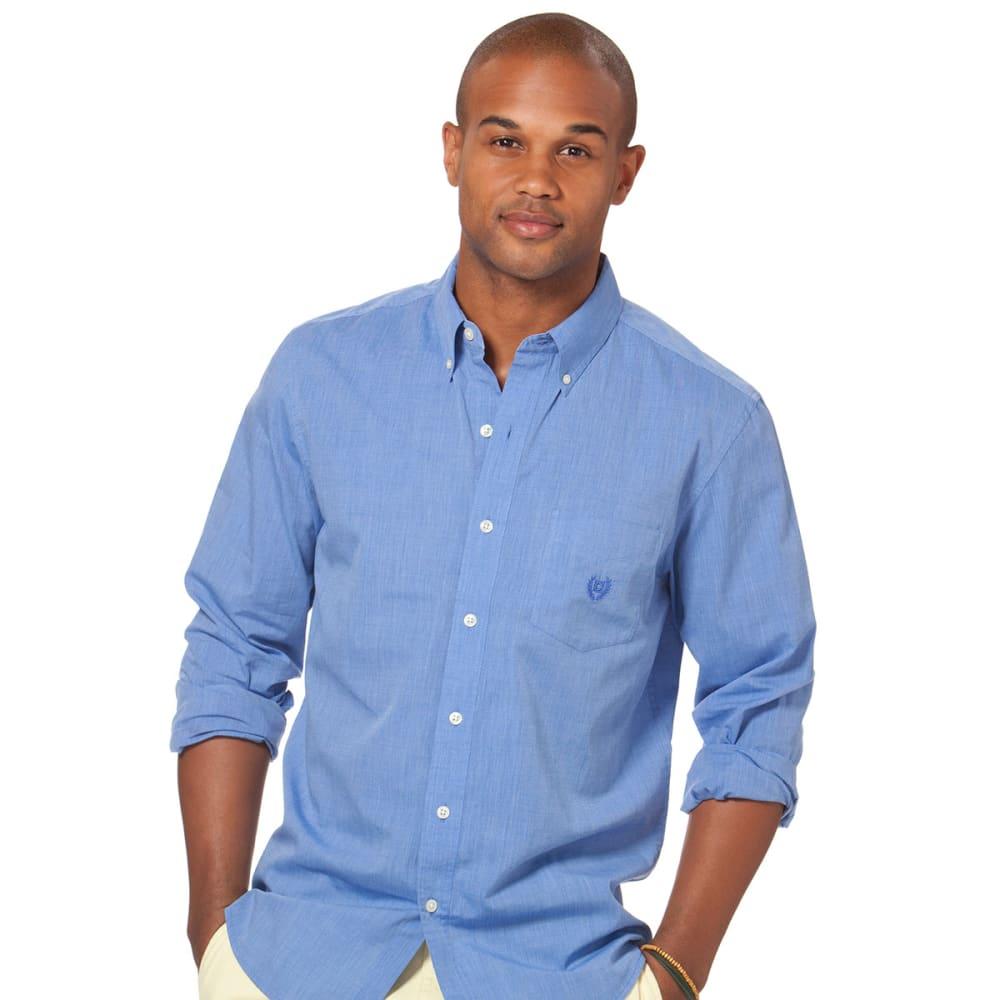 CHAPS Men's Woodbridge Button-Down Shirt - BLUE JAY