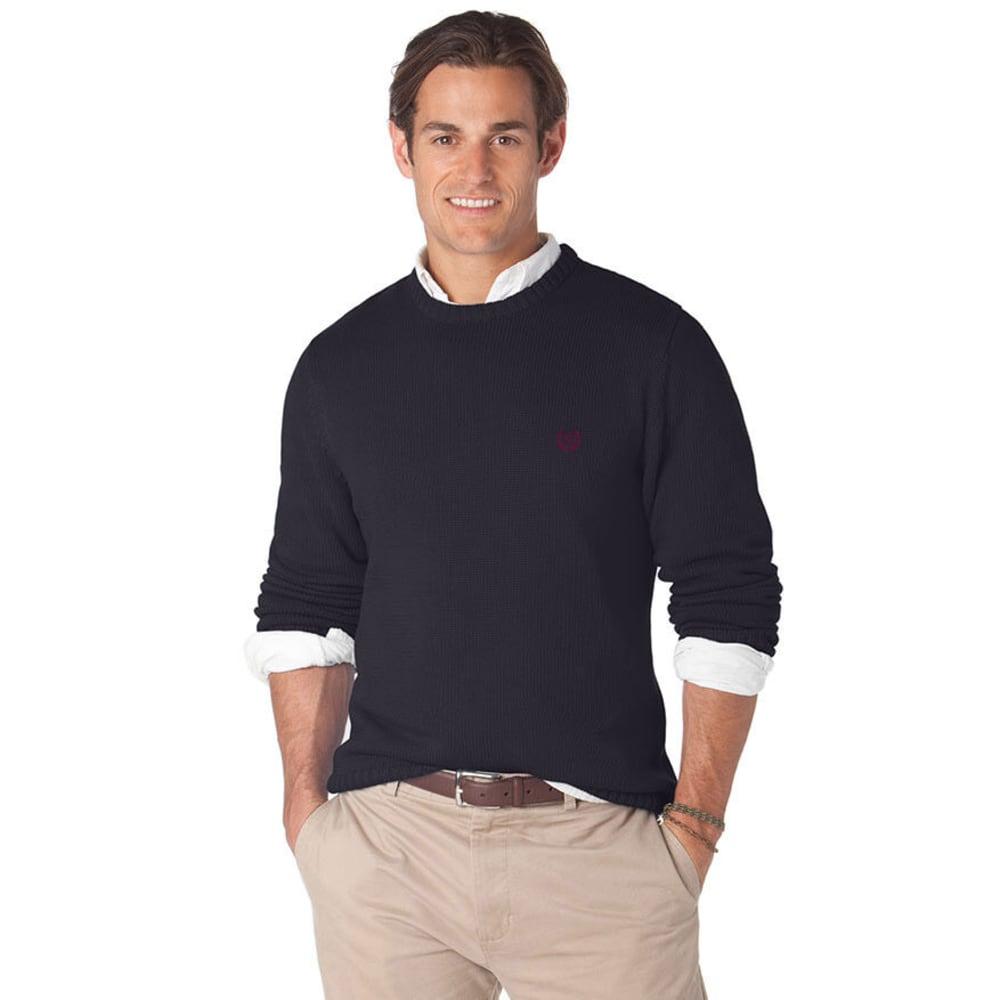 CHAPS Men's Hazelgrove Crew Sweater - NAVY