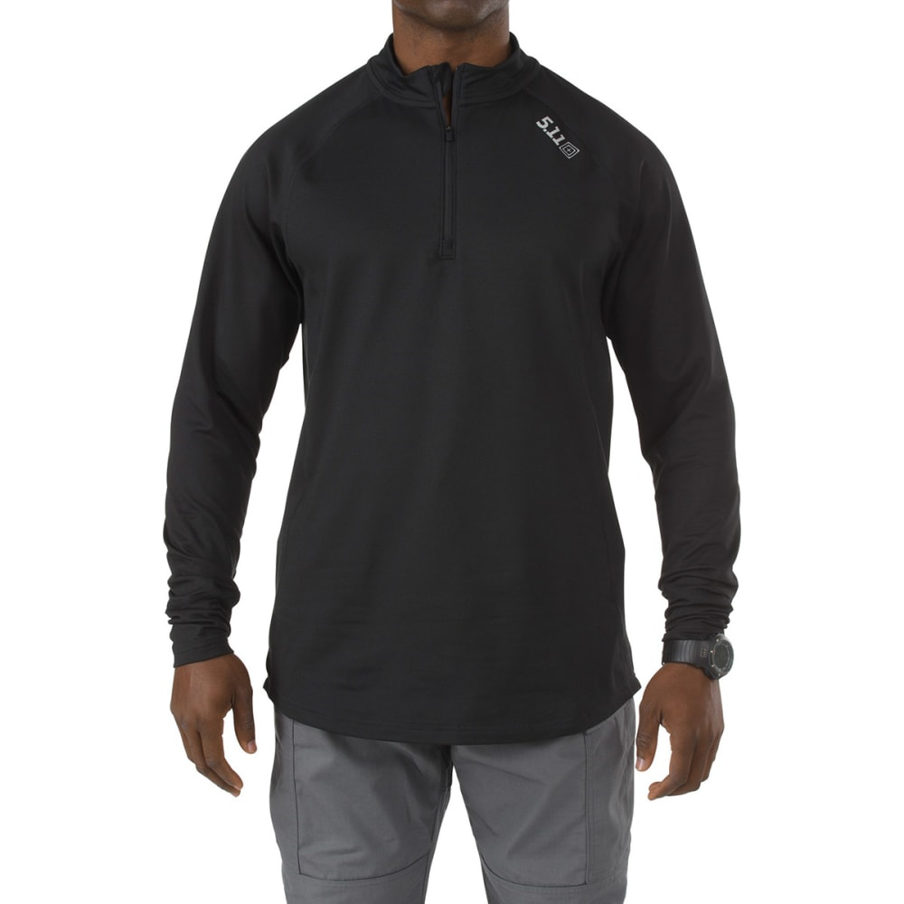 5.11 INC Men's Sub Zero Quarter Zip - BLACK