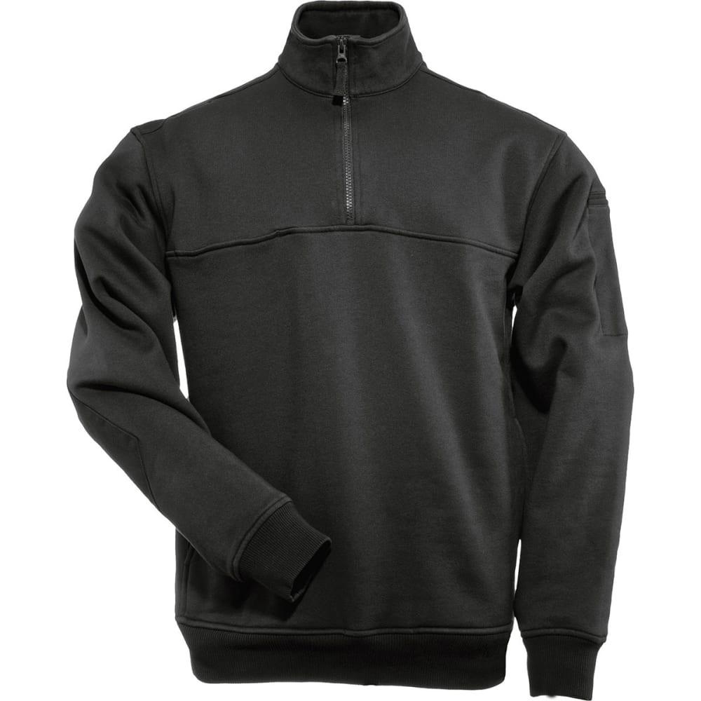 5.11 Men's 1/4-Zip Job Shirt - BLACK