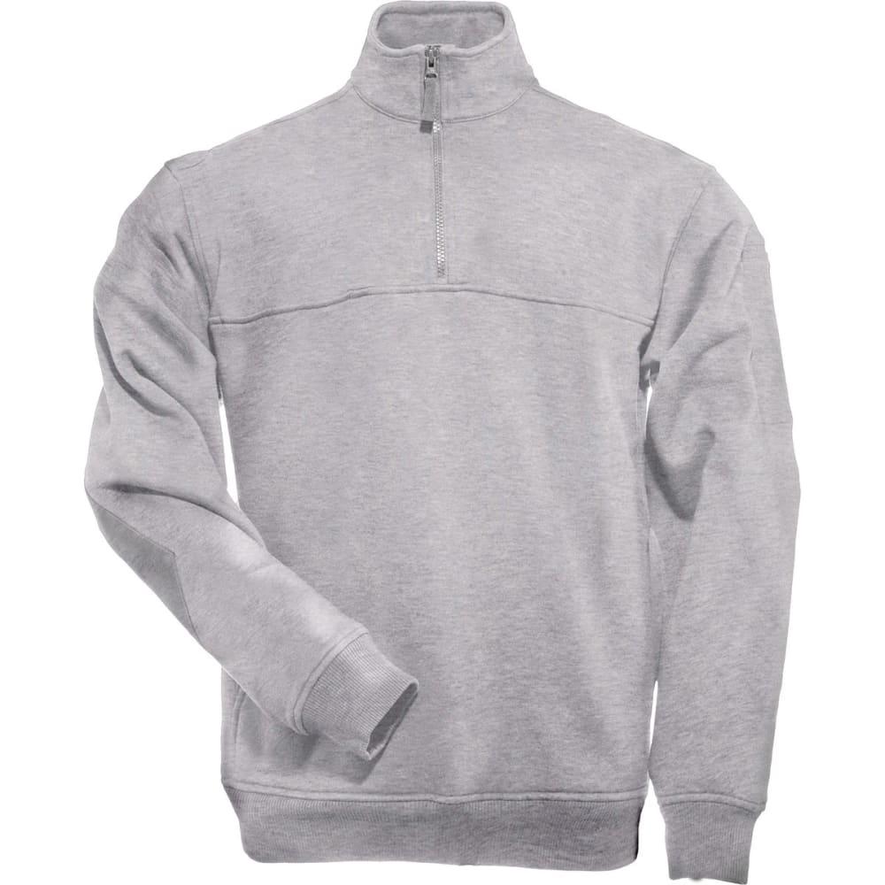 5.11 Men's 1/4-Zip Job Shirt - HEATHER GREY