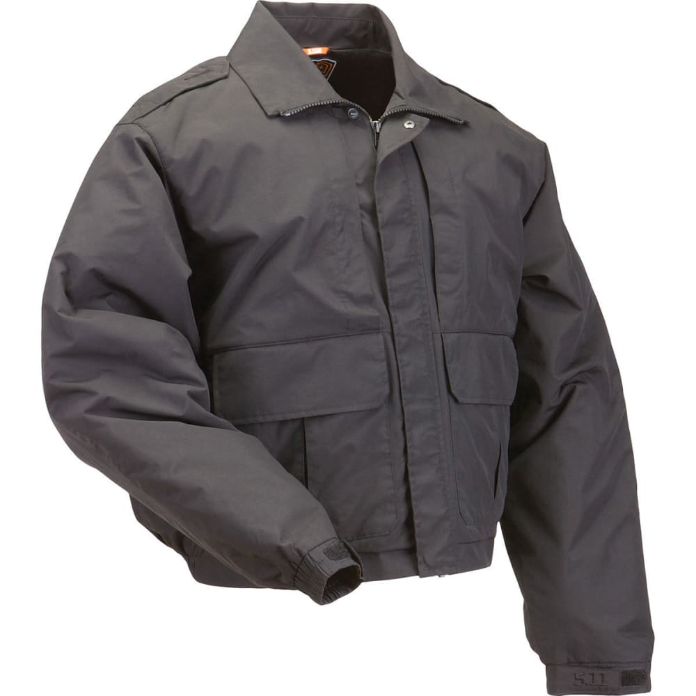 5.11 Men's Double Duty Jacket - Black, M