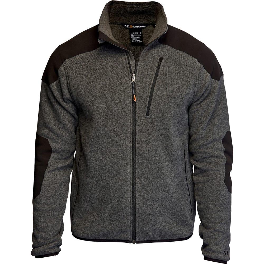 5.11 Men's Tactical Full-Zip Sweater - GUNPOWDER