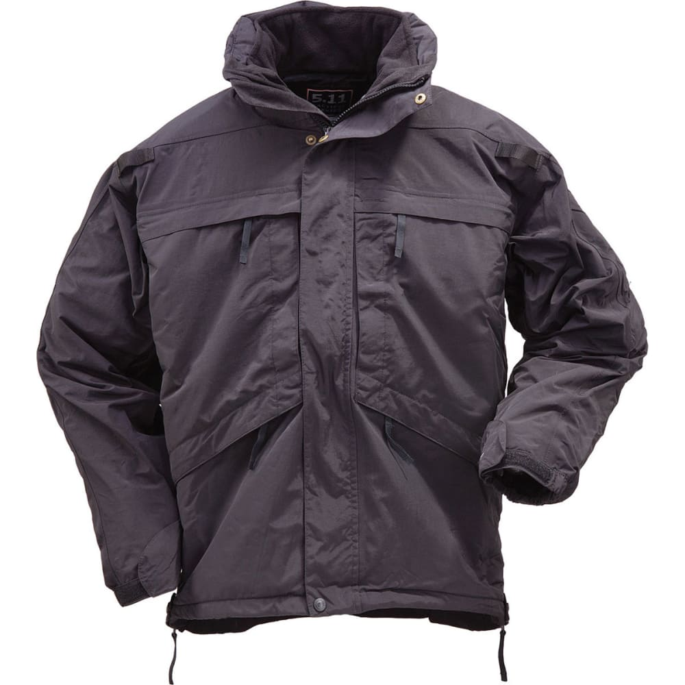 5.11 Men's 3-In-1 Parka - BLACK