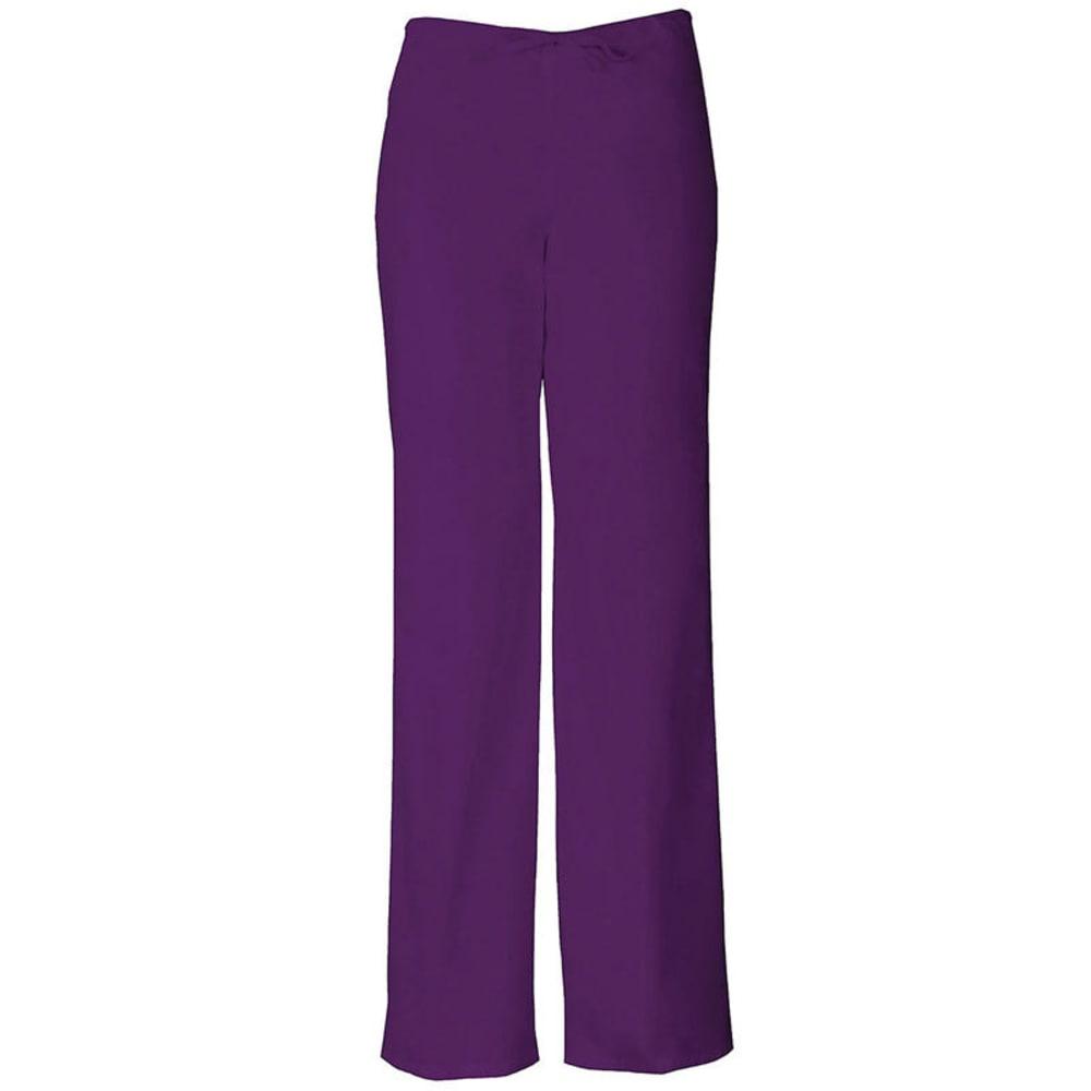 DICKIES Everyday Scrubs Drawstring Pants, Extended sizes - EGGPLANT