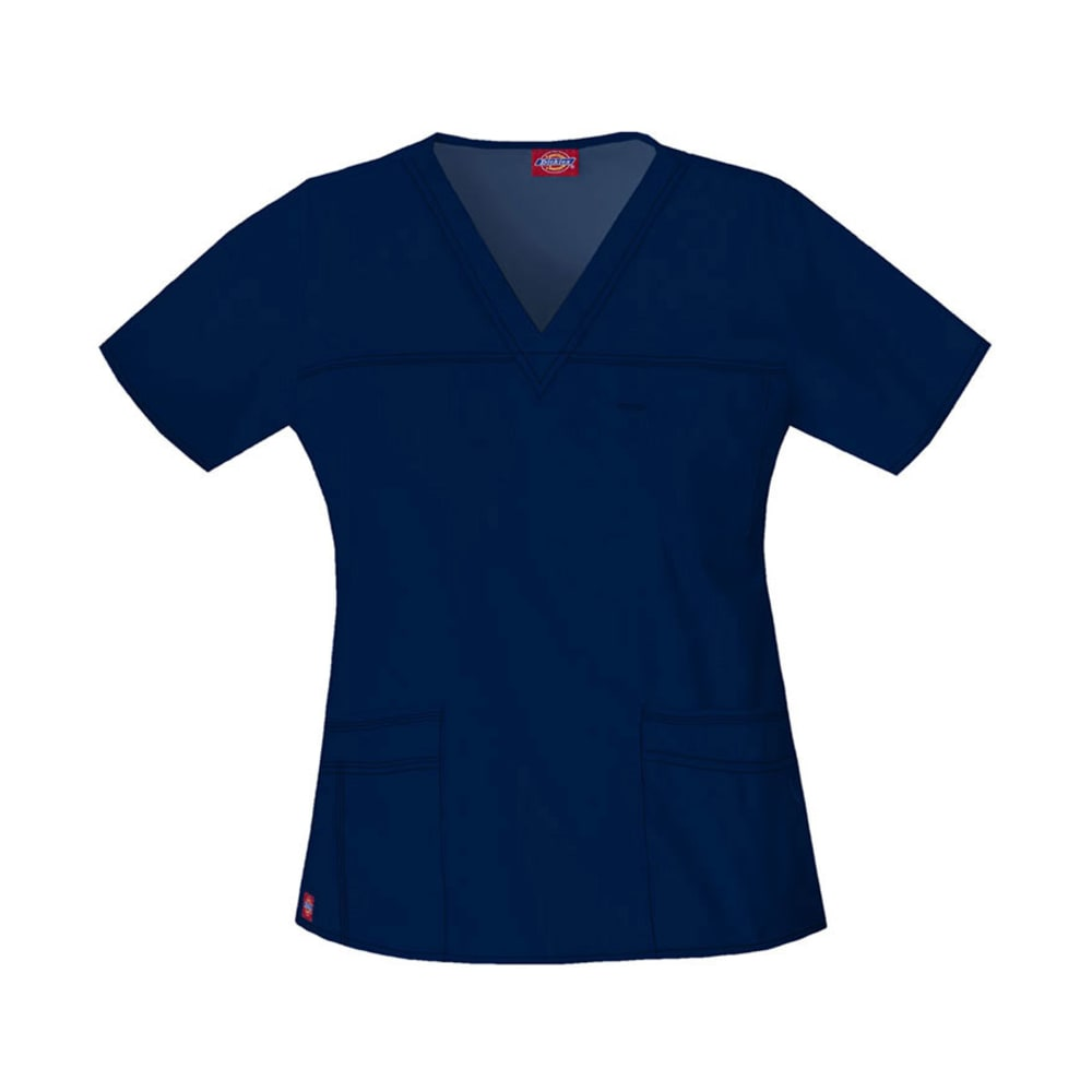 DICKIES Gen Flex Youtility V-Neck Top - NAVY