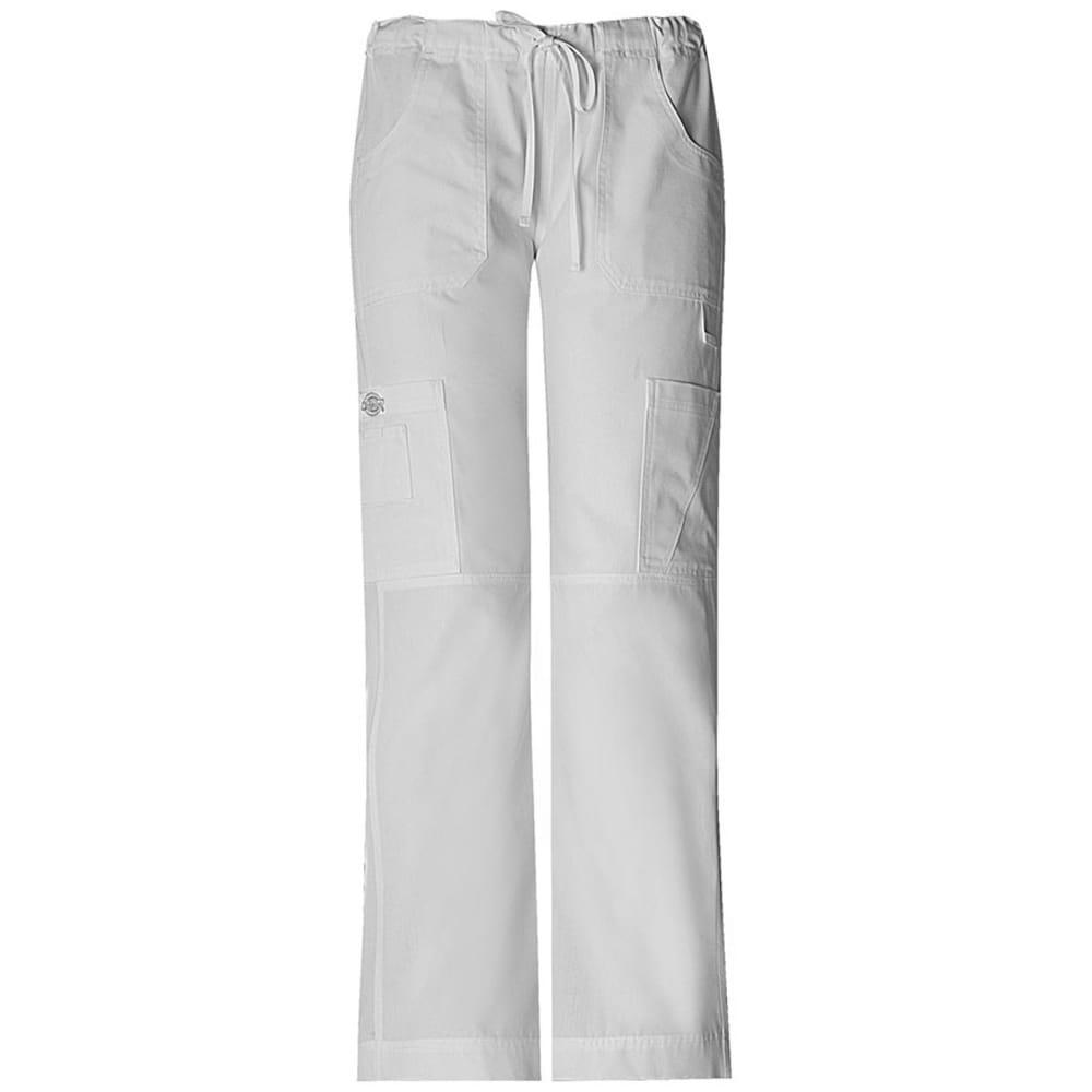 DICKIES Men's EDS Drawstring Pants - WHITE