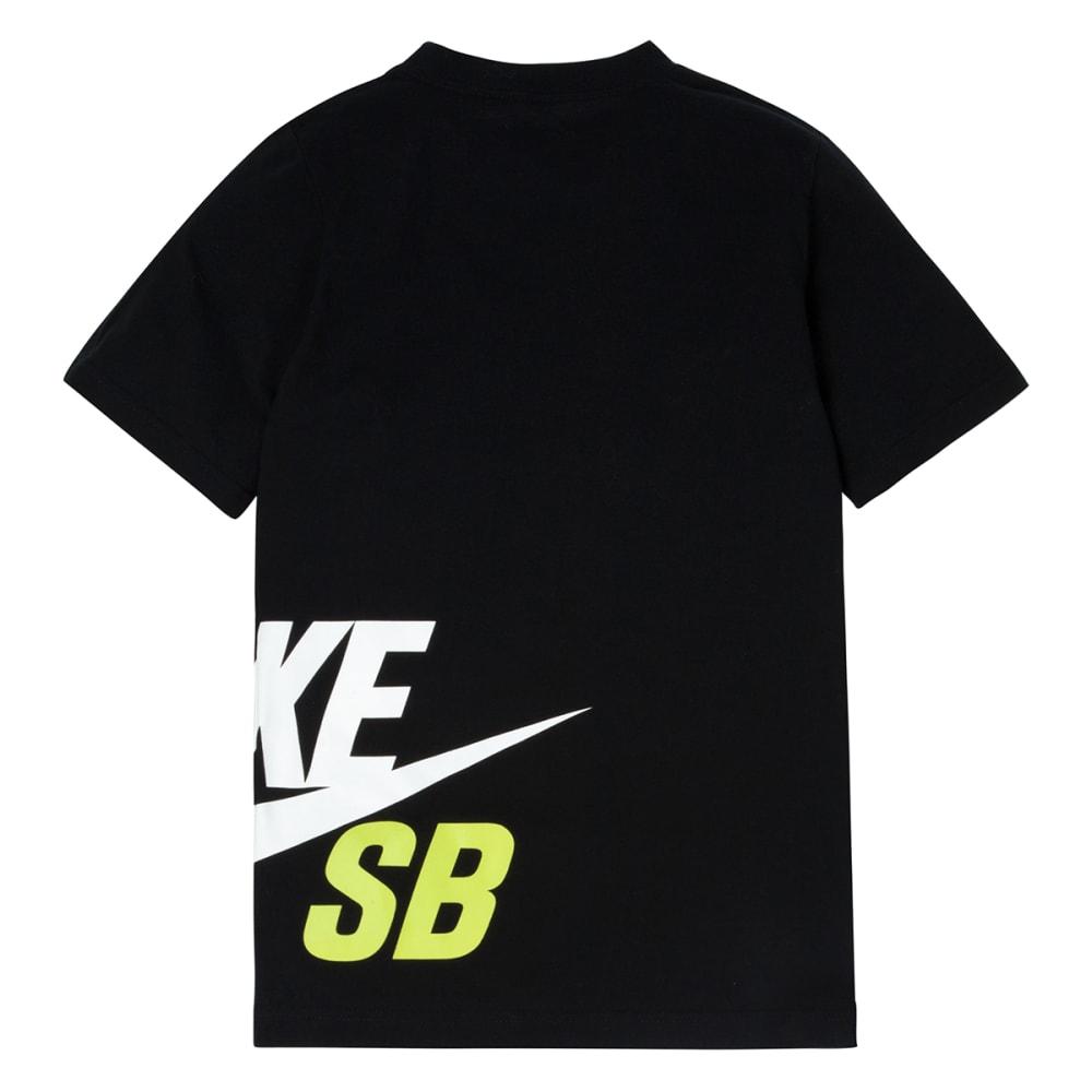 NIKE SB Boys' Wrap Around Logo Tee - BLACK