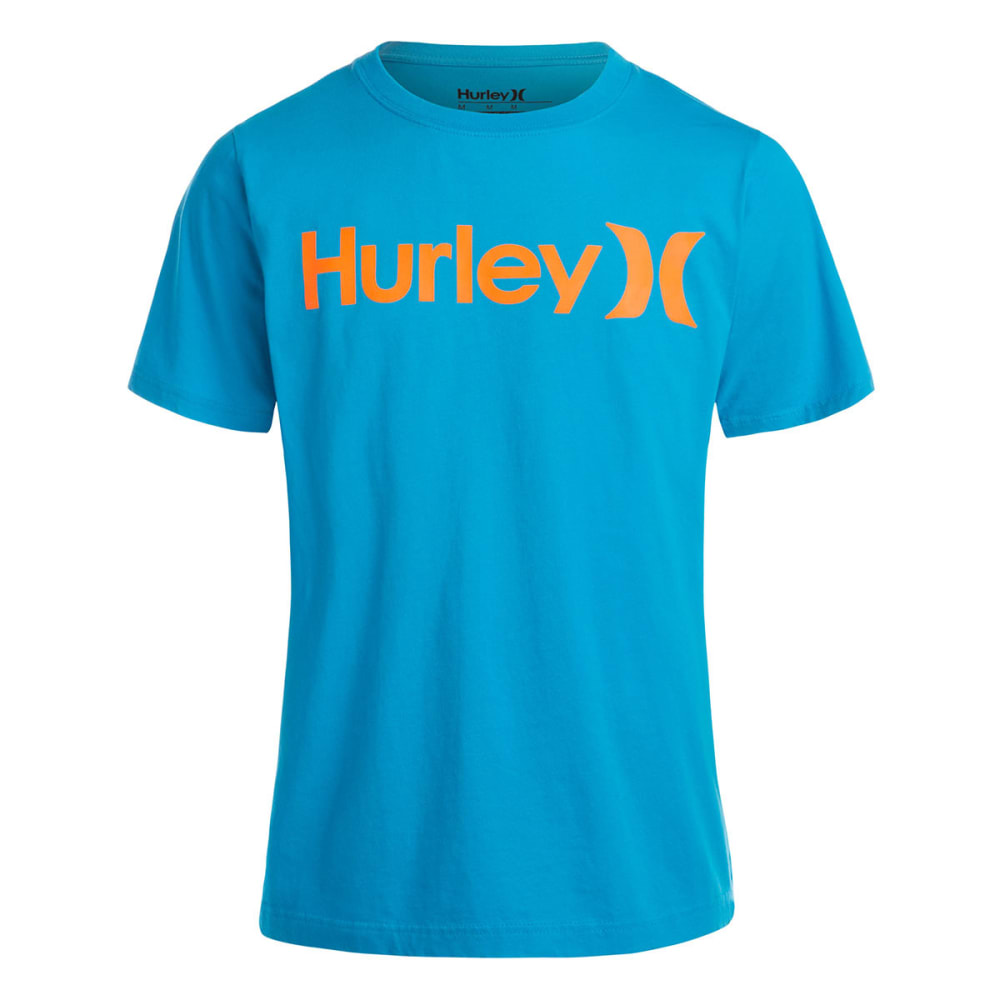 HURLEY Boys' One and Only Tee - BLUE LAGOON