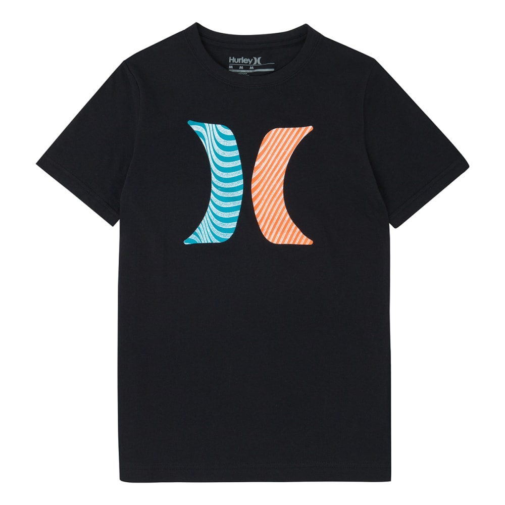 HURLEY Boys' Icon Flow Tee - BLACK-023
