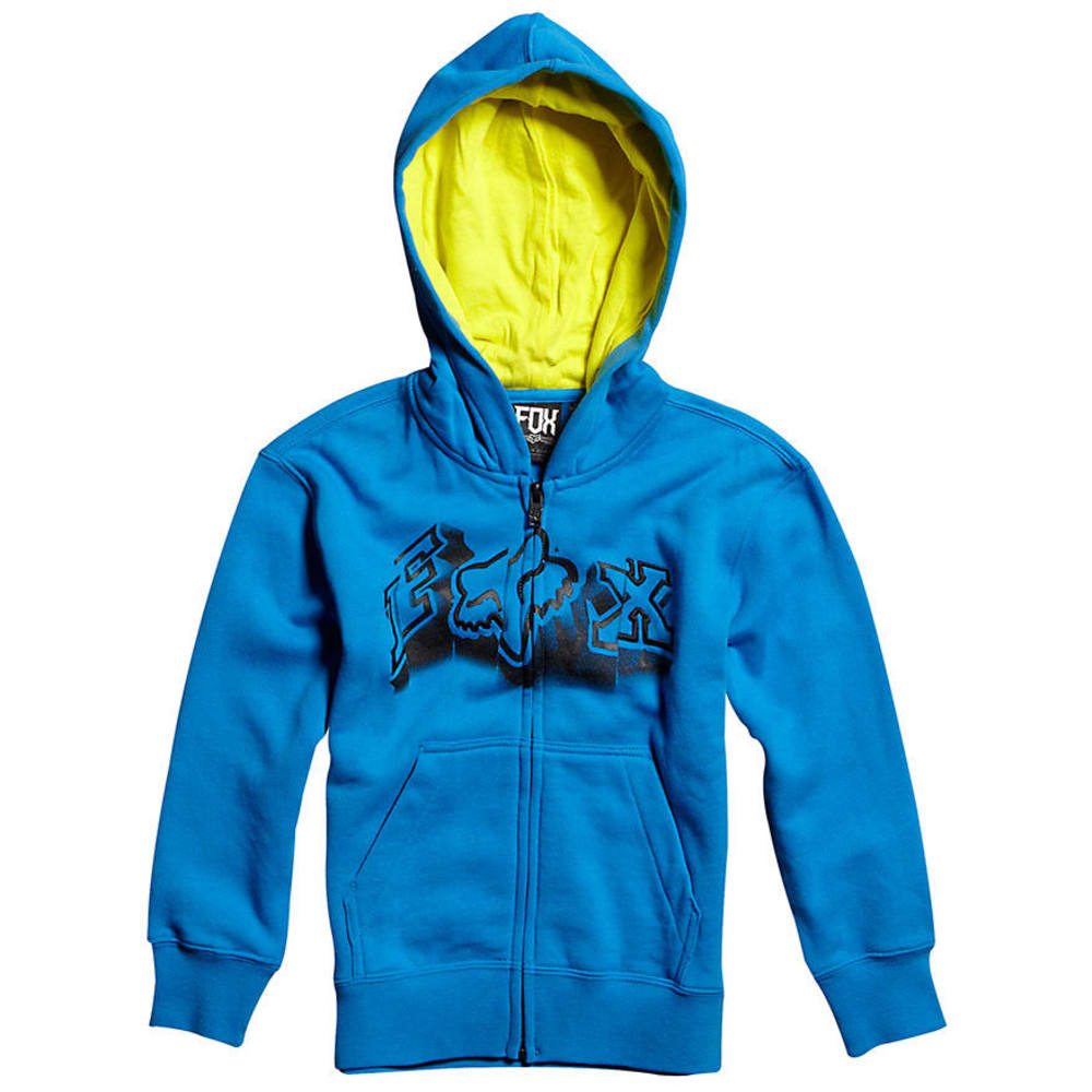 FOX  Boys' Unruler Full-Zip Fleece - BLUE