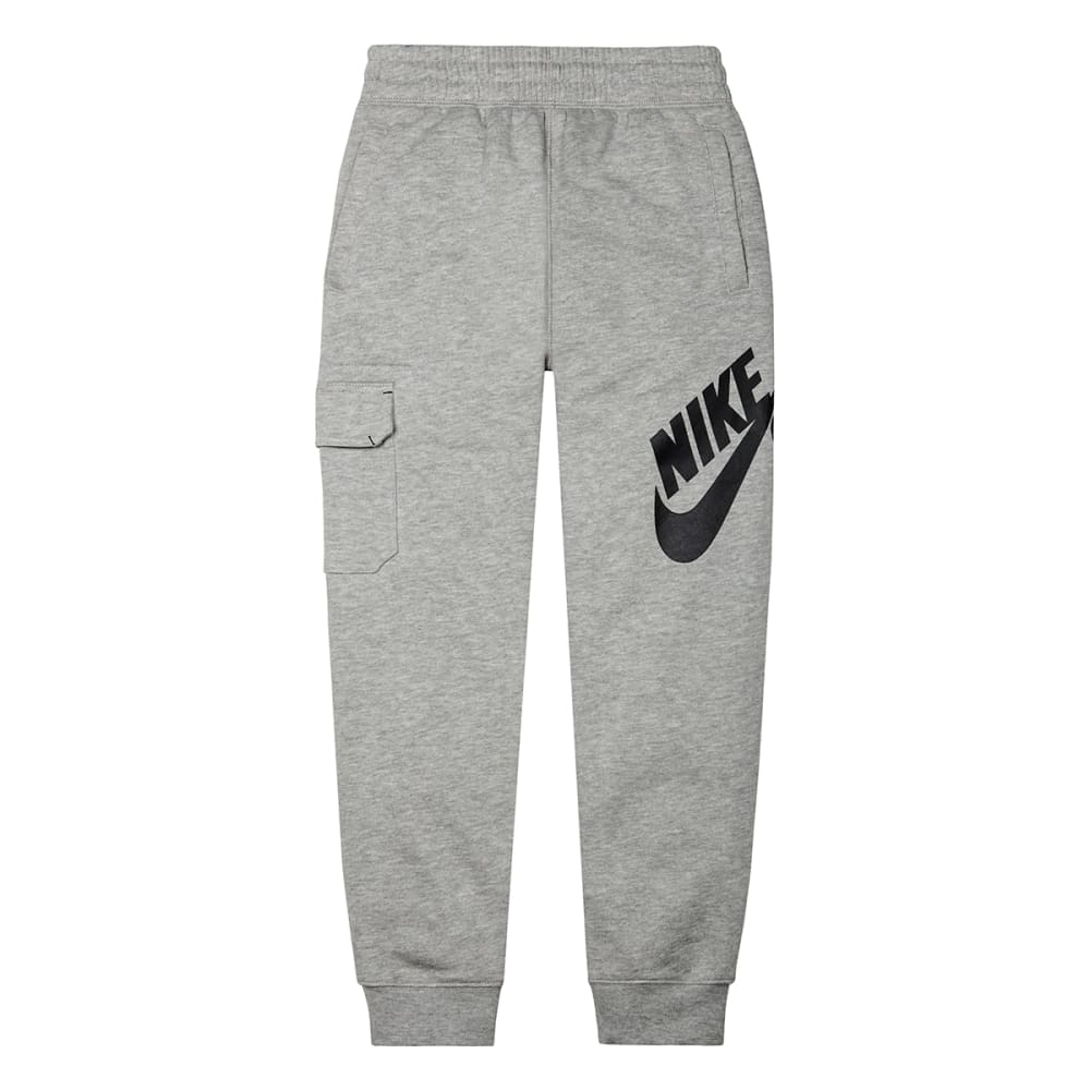 NIKE SB Boys' Fleece Logo Slim Sweatpants - DARK GREY HEATHER