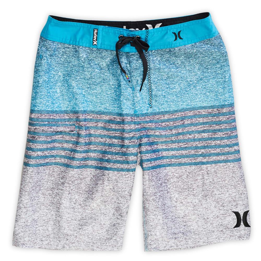 HURLEY Boys' Blaze Board Shorts - BLOWOUT - BLUE LAGOON