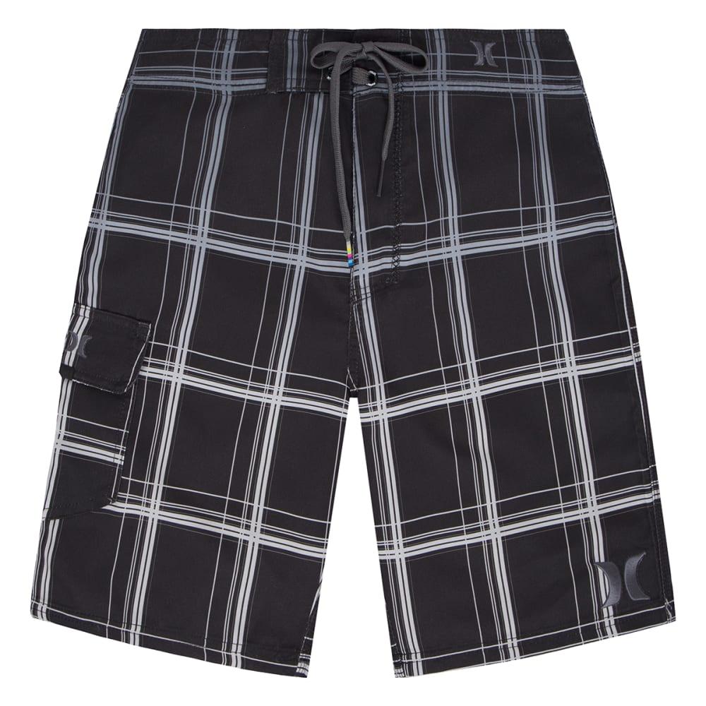 HURLEY Boys' Puerto Rico Boardshorts - BLACK-023