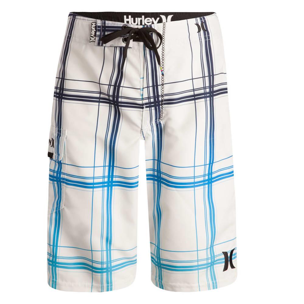 HURLEY Boys' Puerto Rico Boardshorts - WHITE-001