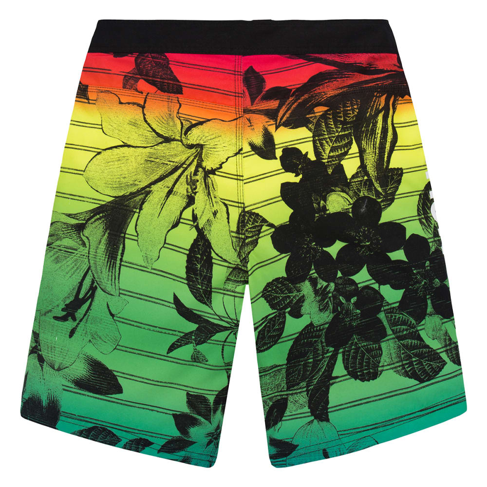 HURLEY Boys' Floral Boardshorts - MULTI-062