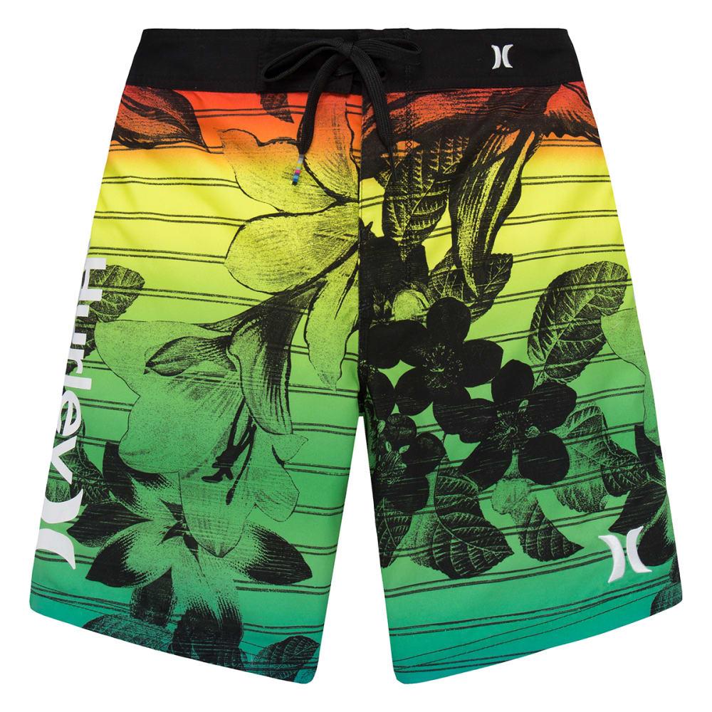 HURLEY Boys' Floral Boardshorts - MULTI-062