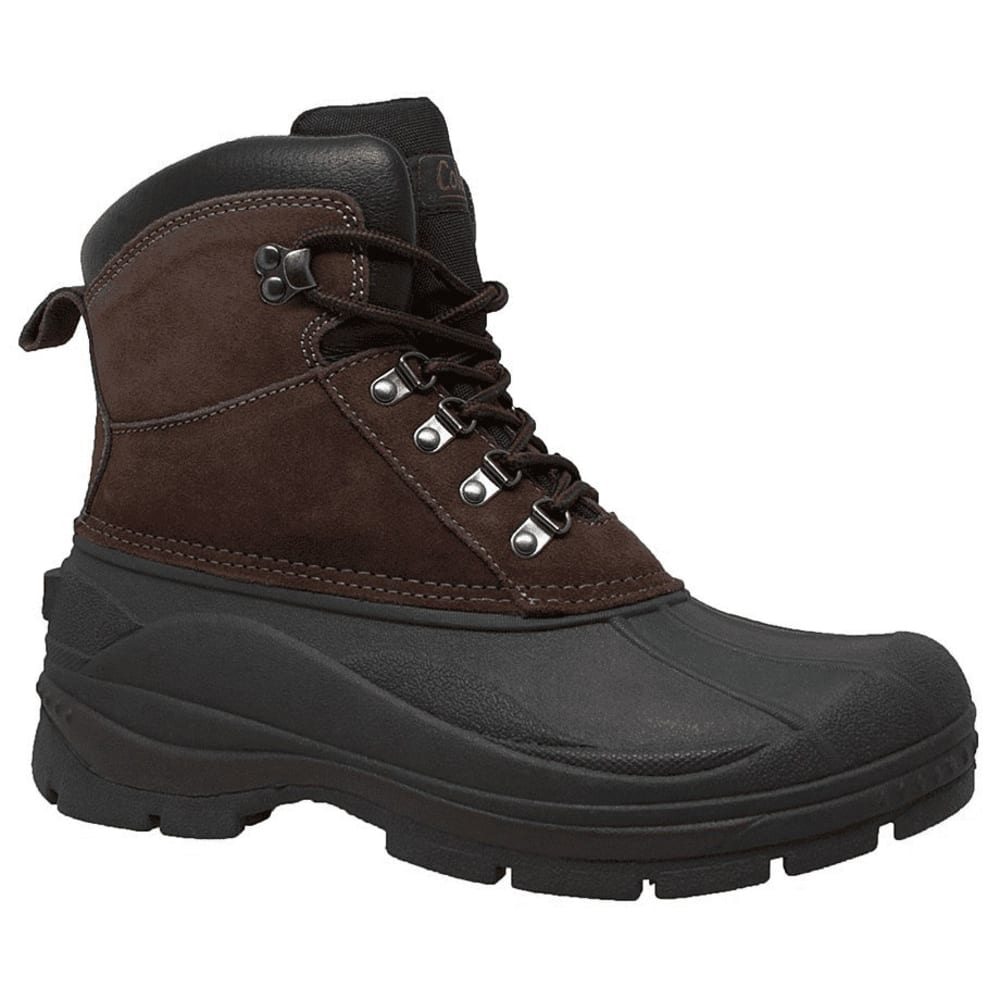 Coleman Men's Glacier Mid Lace Up Shell Boots - Brown, 7
