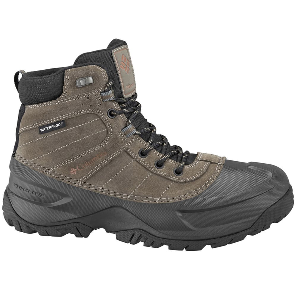 COLUMBIA Men's Snowblade Waterproof Boots - DARK GINGER