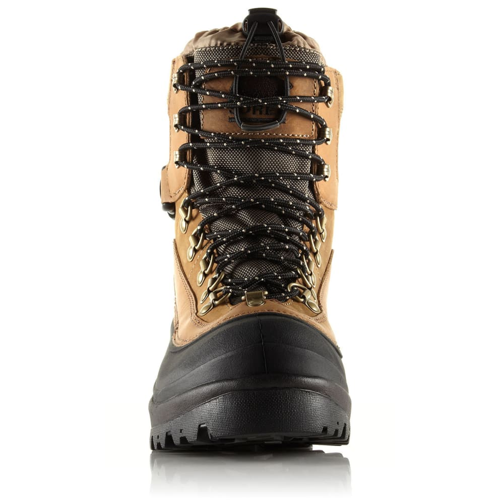 SOREL Men's Conquest Boots - 265 BRITISH TAN