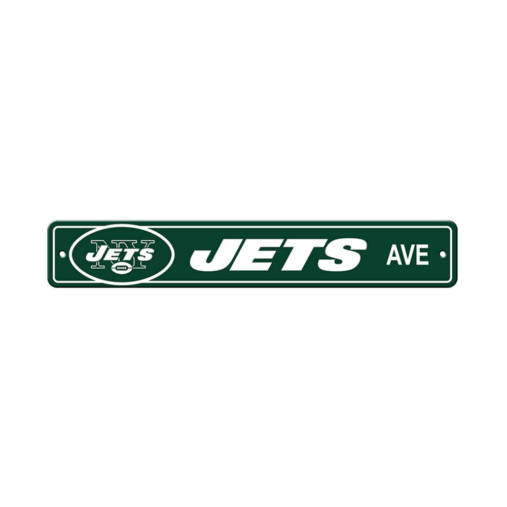 NEW YORK JETS Street Sign - GREEN