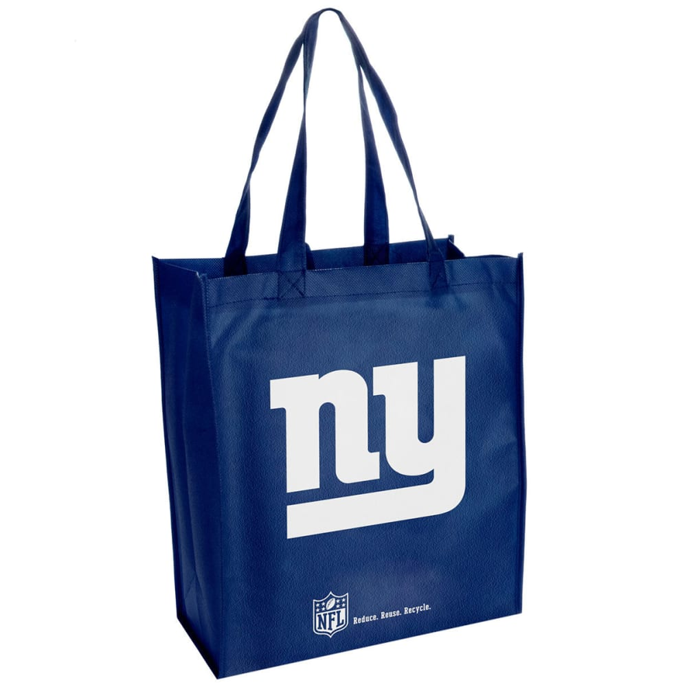 NEW YORK GIANTS Cloth Reusable Bag - DUSTY CEDAR