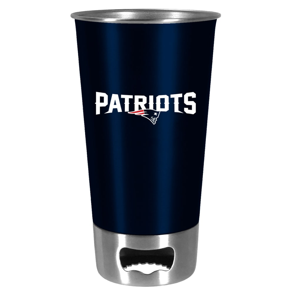 NEW ENGLAND PATRIOTS Metal Pint with Opener - MULTI